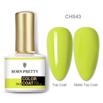 BORN PRETTY Nail Gel 120Colors 10ml Gel Nail Polish Soak Off UV LED Gel Varnish Holographics Shining Nagel Kunst Gellack 89