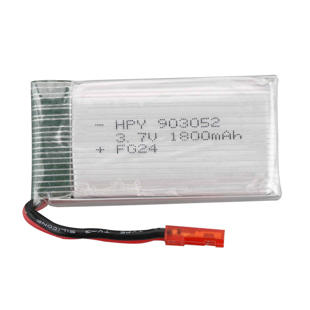 <font><b>3.7V</b></font> <font><b>1800mah</b></font> Lipo <font><b>Battery</b></font> Replace Rechargeable <font><b>Batteries</b></font> For LF609 FPV RC Drone Spare Parts Accessories image