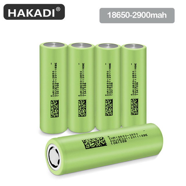 18650 3.7V 2900mAh Rechargeable Lithium Ion Battery For Flashlight Electric Bicycle Laser Pointer 3C 5C High Power Discharge