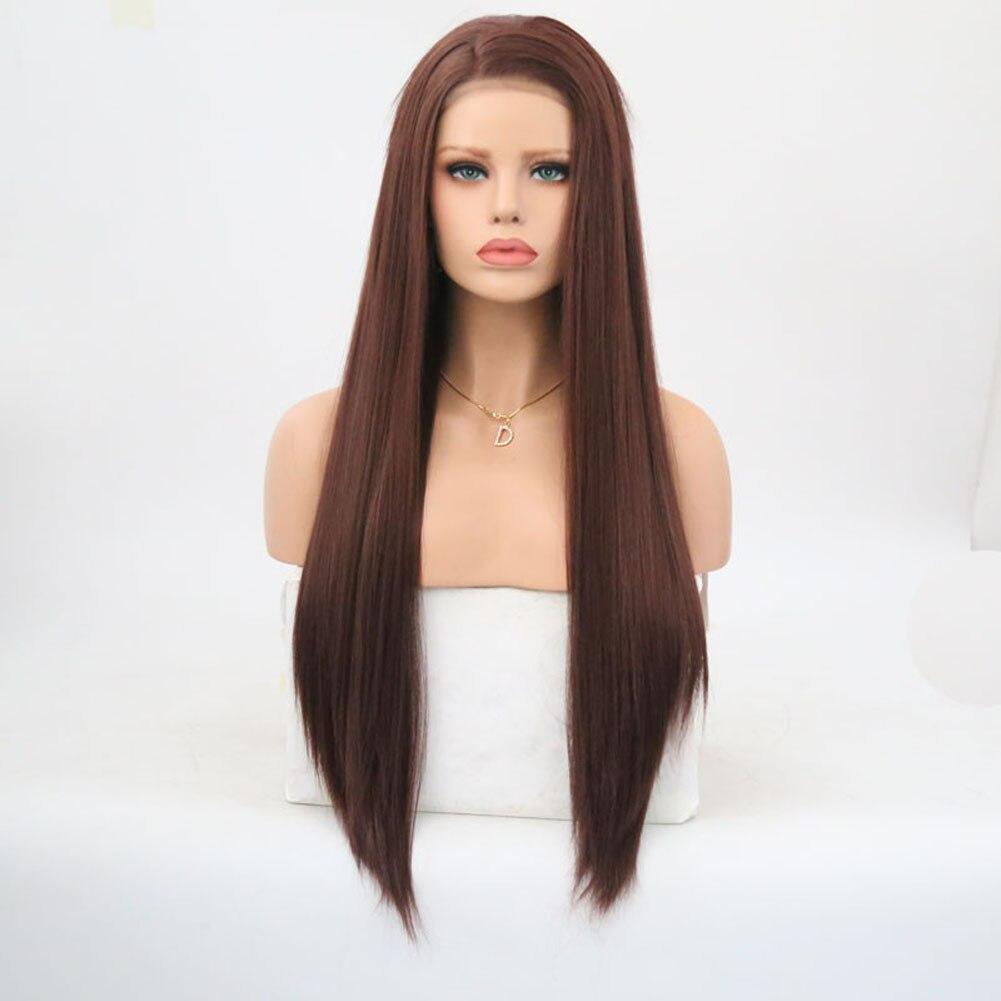 calor perucas sintéticas de renda frontal cabelo