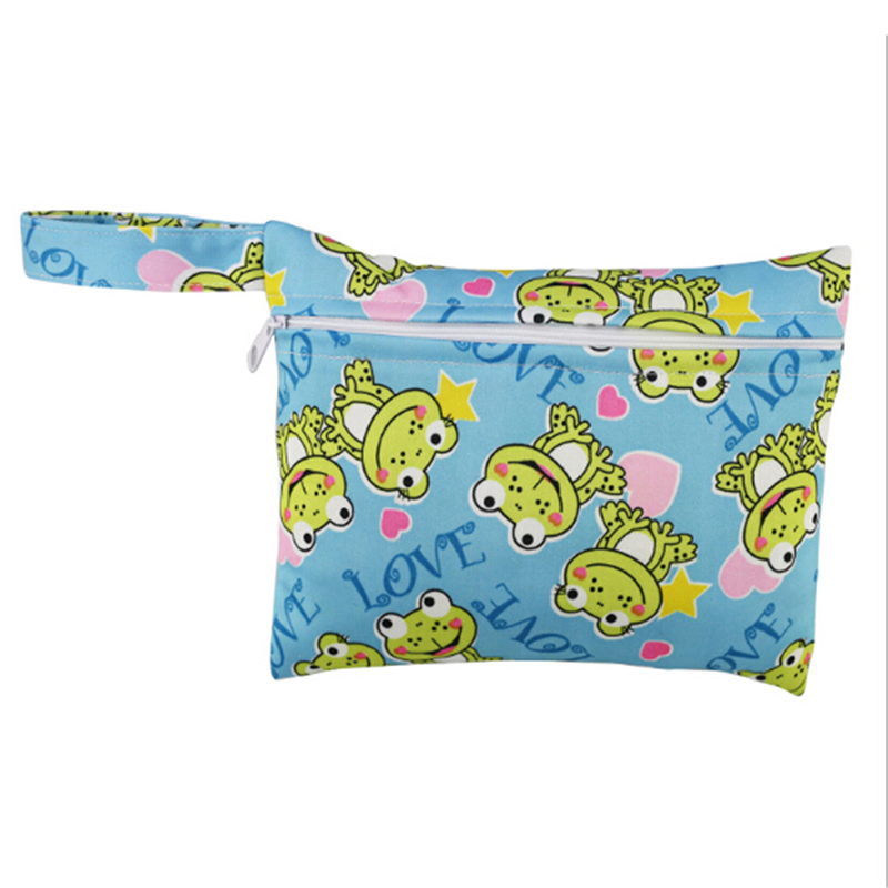 1pce мини кормящих влажный мешок водонепроницаемый многоразовые для мамы тканевые менструальные прокладки