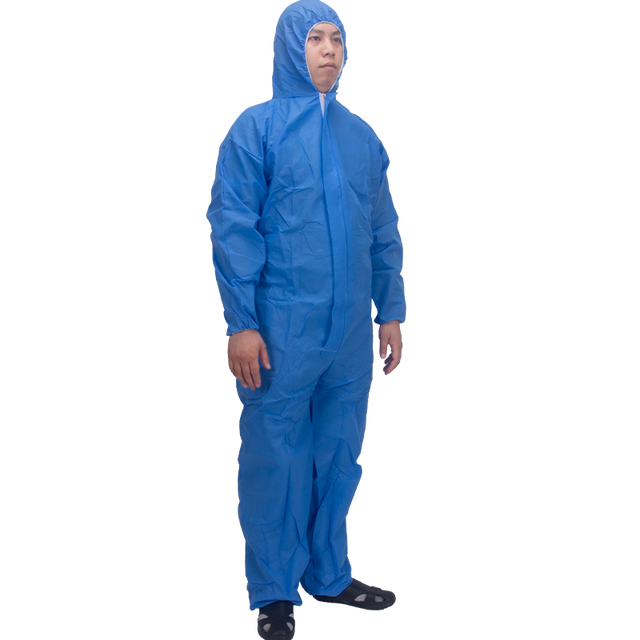 Disposable Protective Suit Ppe Suit Chemical Protection Work Clothes Protective Clothing Special Clothes Coverall 5