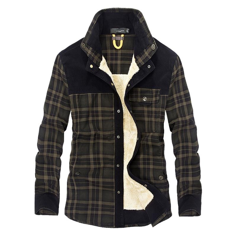 Mountainskin Men's Warm Jacket Fleece Thick Army  Coat Autumn Winter Jacket Men Slim Fit Clothing Mens Brand Clothing SA831 2