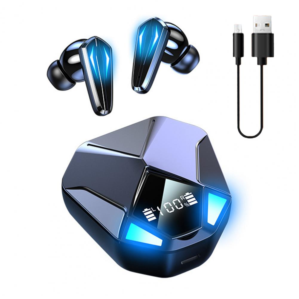 TWS Bluetooth V5.1 Earphones E sports Wireless Headphones 9D Stereo Earbuds Gaming...