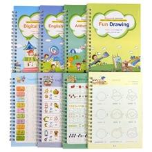 Reusable Book Handwrite Practic Calligraphy Children for Baby-Supplies 4/3d