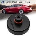 Автомобильный резиновый переходник для гнезда, инструмент для ремонта, защита рамы, подъемная износостойкая поддержка шасси для Tesla Model S, ...