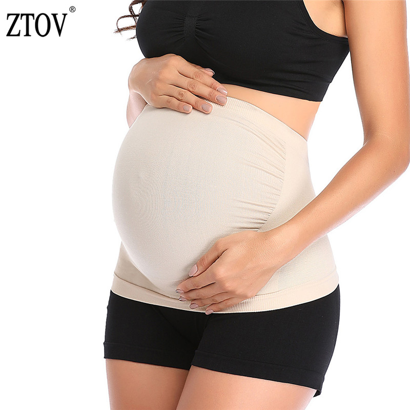 ZTOV Pregnancy Support Belly Bands Spuc Belts Corset Pregnant Woman Maternity Belt Prenatal Care Shapewear Pregnant Women