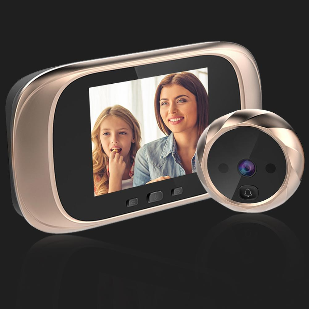 DD1 Infrared Motion Sensor Doorbell HD Cam Long Standby Night Vision Door Bell 300,000 Professional Security Hd Cameras