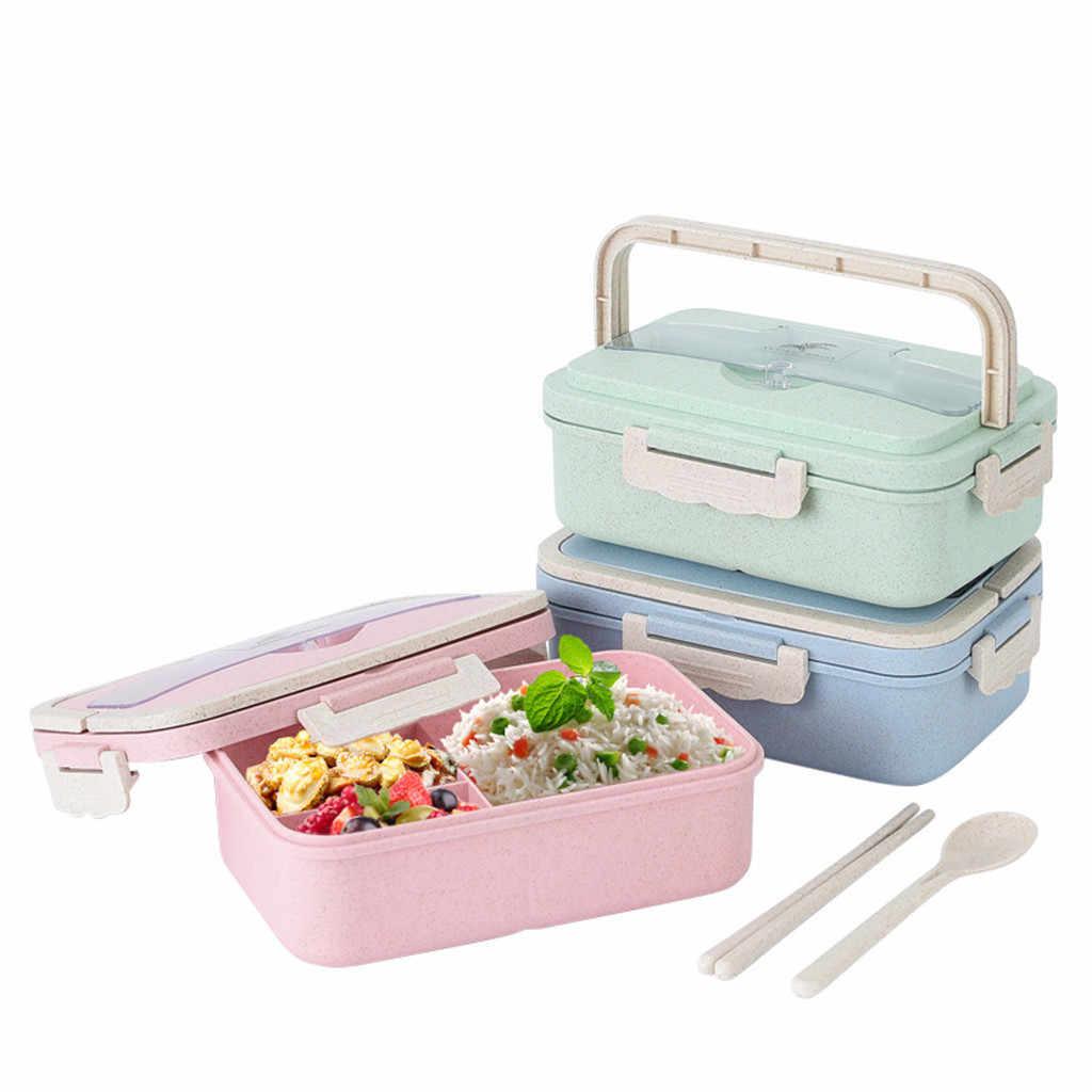 Lunch Box Fur Kinder Mit Facher Japanischen Bento Box Mit Versteckten Griff Mikrowelle Heizung Lebensmittel Behalter Geschirr Neue Z0312 Aliexpress