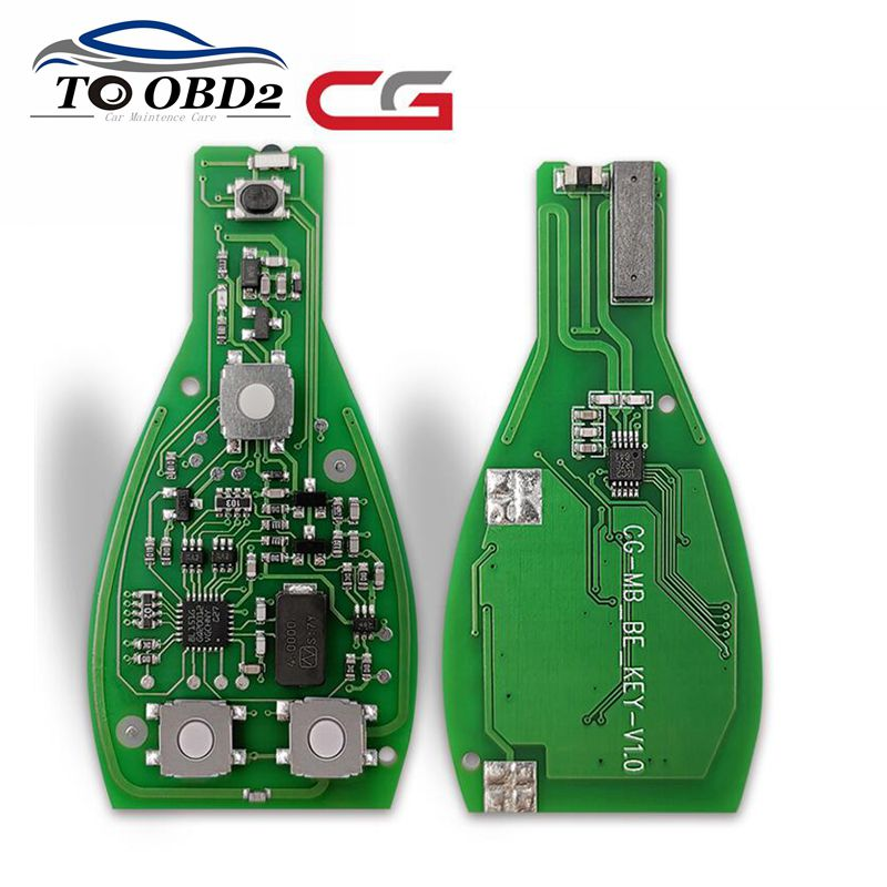 2019 Newest CGDI MB Key For Mercedes For Benz CG BE Key 315 / 433MHz Support All FBS3 Smart Remote Key