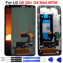 For LG Q6 LCD Display Q6+ G6 Mini M700 M700A M700N US700 M703 M700H M700Y LCD Display Touch Screen Digitizer Assembly M700 LCD цена в Москве и Питере