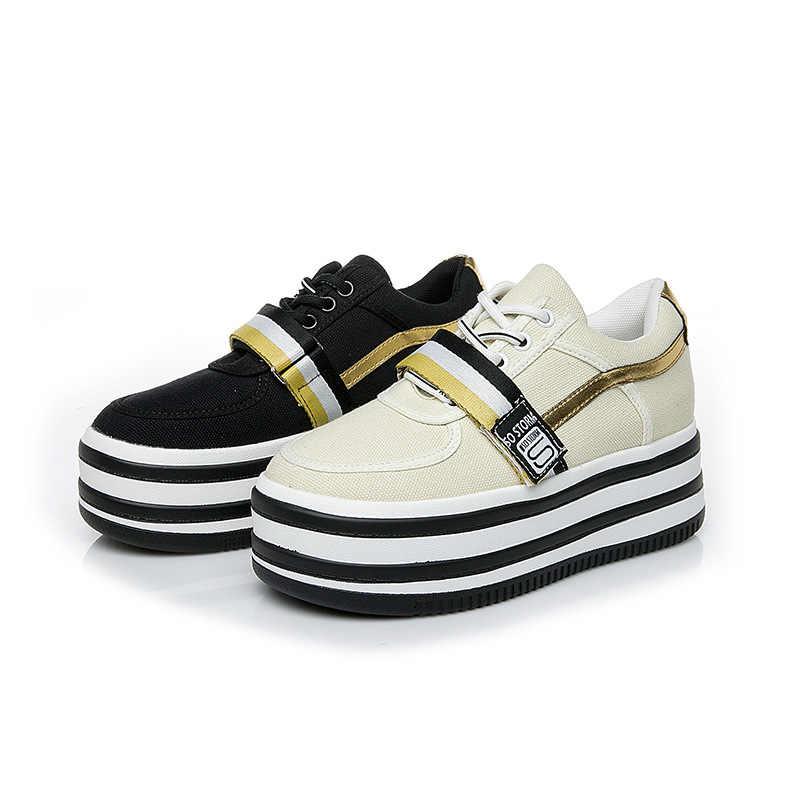"""Nữ Giày Nữ Mới Muffin Nặng Đáy Nền Tảng Giày Thời Trang Đế Giày Dây Leo Zapatos De Mujer """"E11-09"""