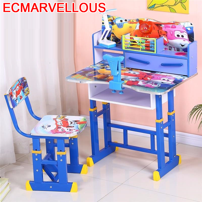 Infantiles Mesa Y Silla Infantil Tavolino Bambini Stolik Dla Dzieci Pour Adjustable Bureau Kinder For Enfant Kids Study Table