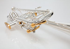 Image 3 - BULUKE trompette instrument de musique Bb plat trompette classement préféré plaqué plaqué trompette performance professionnelle
