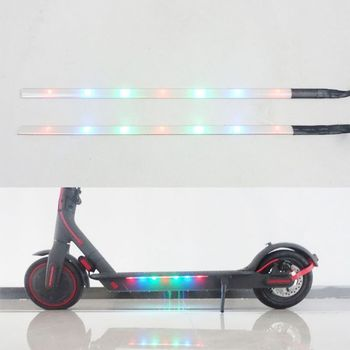 Scooter Strip Light Colorful Night Safety Warning LED Light With Chassis For xiaomi M365 / M365 Pro Electric Scooter Accessory