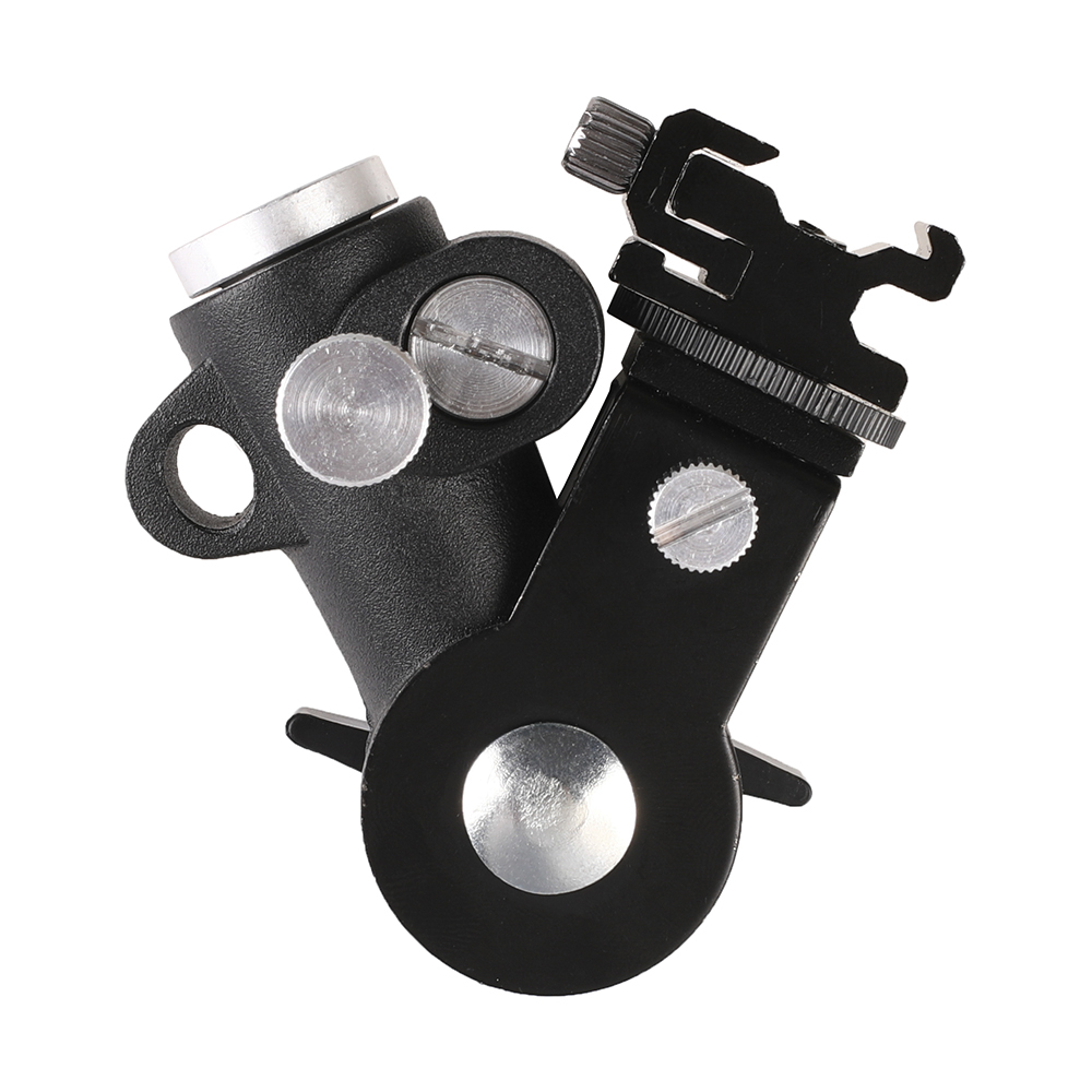 Photography Accessories Flash Bracket Umbrella Holder Light Stand Bracket with Hot Shoe Mount For Flash Speedlight Youngnuo