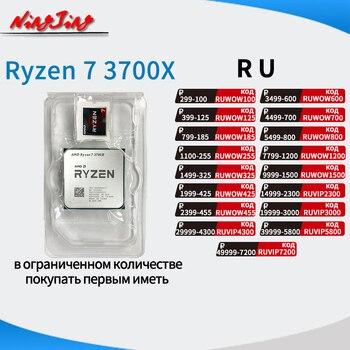 AMD Ryzen 7 3700X R7 3700X 3.6 GHz Eight-Core Sixteen-Thread CPU Processor 7NM L3=32M 100-000000071 Socket AM4 new but no fan 1