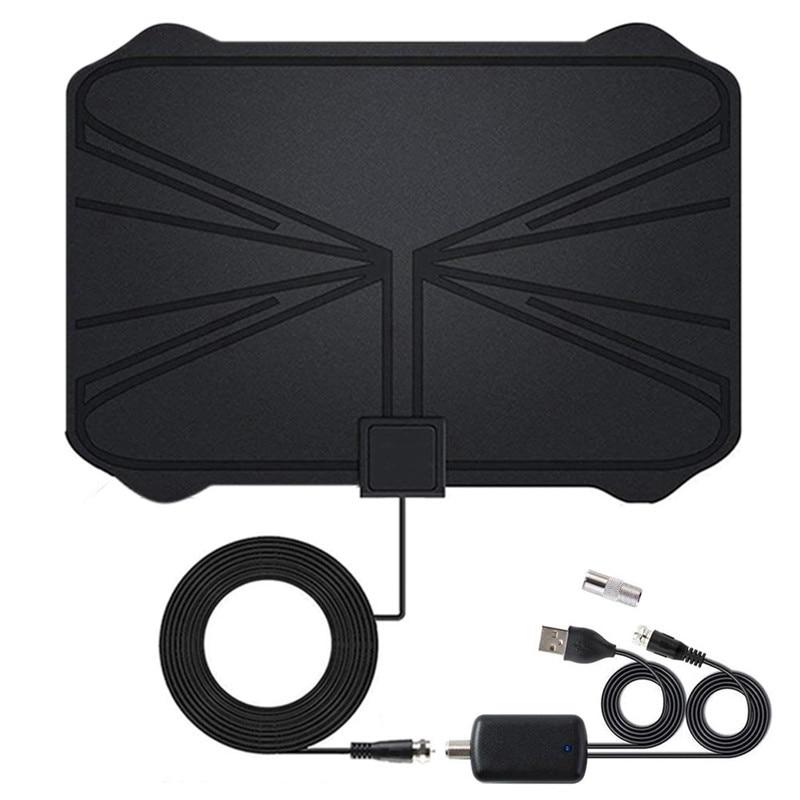 2020 NEW Indoor 1080 Miles 4K 30DB Digital HDTV Antenna TV High Gain Amplifier Signal Booster Digital Antenna DVB-T2 TV Aerial