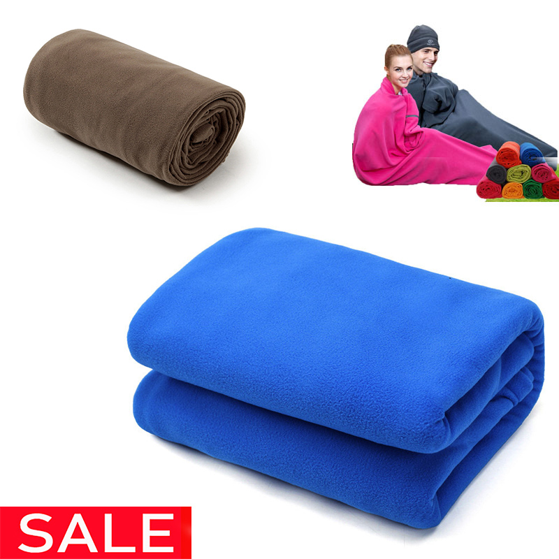Portable Ultra-light Polar Fleece Sleeping Bag Outdoor Camping  Tent Bed Travel Warm Sleeping Bag Liner