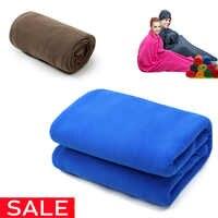 Sac de couchage polaire Ultra-léger Portable en plein air Camping tente lit voyage doublure de sac de couchage chaud