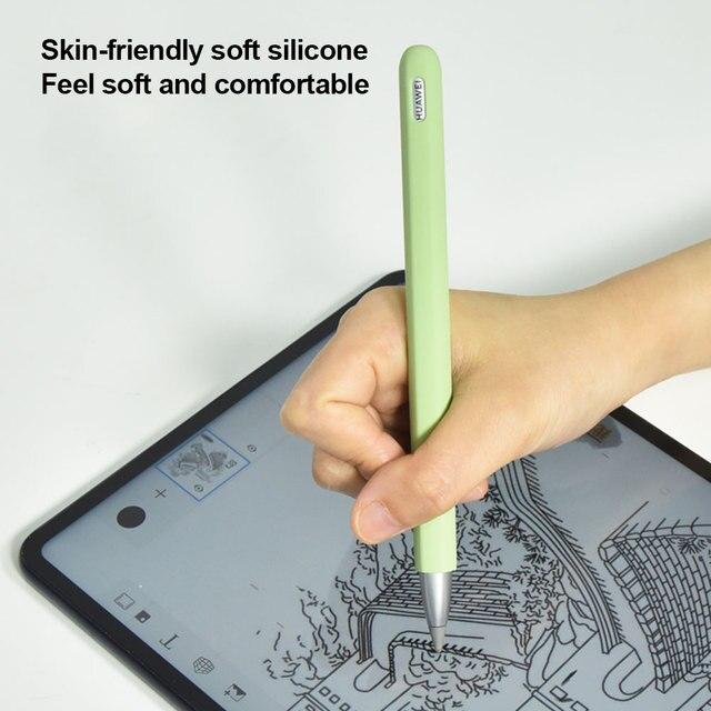 Anti-scratch silikonowa pokrywa ochronna stalówka Stylus Pen Case skóra dla Huawei m-ołówek akcesoria ołówek pióro dla Huawei Mate Pad