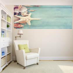 Раковина Морская Звезда Shell Board цифровая наклейка с принтом гостиная Входная библиотека декоративная живопись поставляется с жвачкой