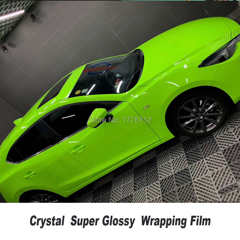 Glossy Coral Car Body Films Vinyl Wrap Sticker Decal Bubble Free Air Release New