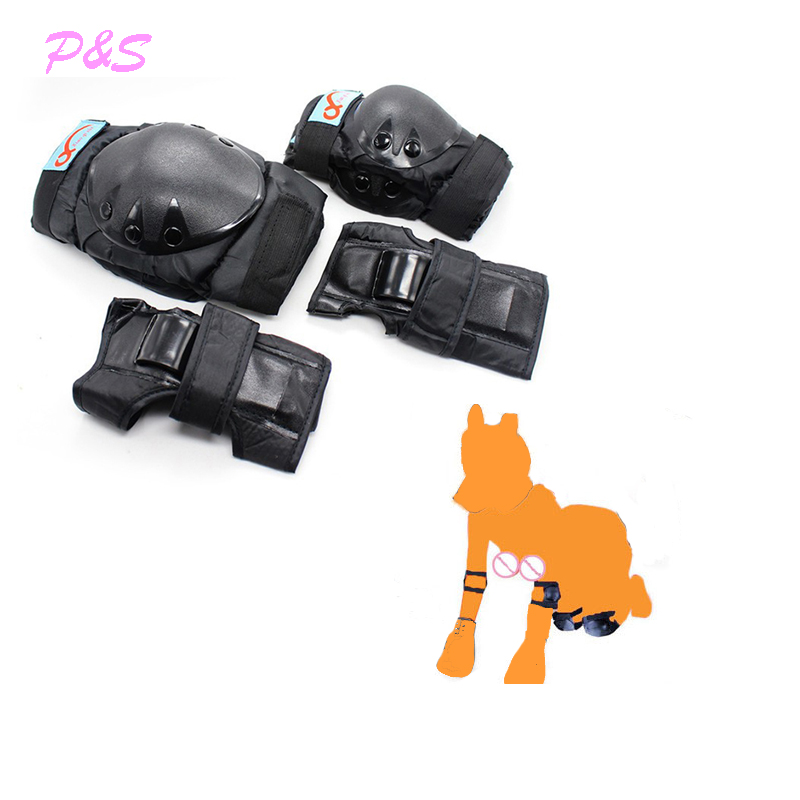 Knee and Elbow Pads Protection Support Guards,Puppy Play, Padded Palm Wrist Protective Gear,Forced Oral Sex ,BDSM Cosplay Tools