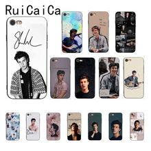 Ruicaica Shawn Mendes Camila Cabello Senorita Black TPU Soft Phone Case Cover for iPhone 8 7 6 6S 6Plus 5 5S SE XR X XS MAX shawn mendes x yoox толстовка