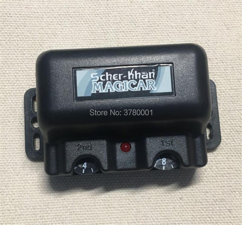 Anti-theft Accessories For Scher Khan Magicar 5 6 Russian Version 2-WAY Car Alarm System Scher-Khan Magicar 5 6