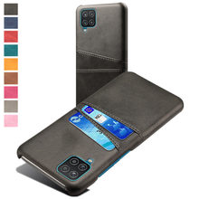 Für Samsung A12 A21S A32 A52 A42 A72 F41 Abdeckung Retro PU Leder Karte Slots Fall Für Galaxy Note 8 9 10 S10 5G S9 S8 Plus Funda