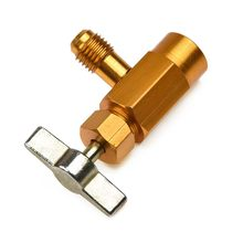 R-134 Tap Opener Ac DV-134 Vervanging Gold 1 / 2-16 Connector Acme Adapter Kan Klep Koelmiddel Accessoire Onderdelen(China)
