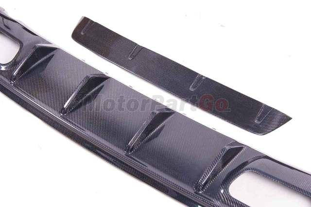 FOR MERCEDES BENZ W176 A45 REAR DIFFUSER Bumper Lip Spoiler 1 LOW SPOILER ED1 AMG STYLE   M177 5