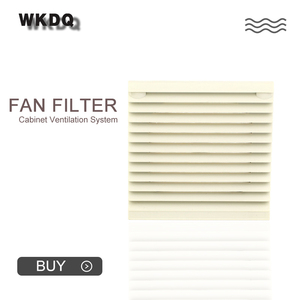 FK-3322-300 Cabinet Ventilation Filter Set Shutters Cover Fan Grilles Louvers Blower Exhaust Fan Filter Filter Cool Without Fan(China)