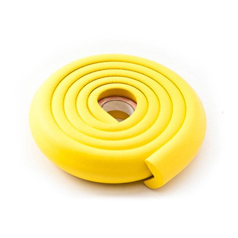 2 м защита для детей Защита для детей угловая защита для детской мебели угловая защита для стола защита углов защита кромок - Цвет: PJ016-HUANG