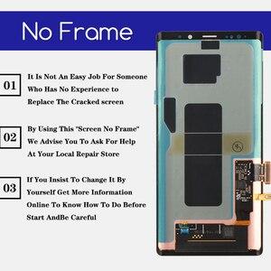 Image 3 - מקורי סופר AMOLED 6.4 תצוגה + מסגרת לסמסונג גלקסי הערה 9 Note9 N960D N960F LCD מסך מגע Digitizer חלקי תיקון