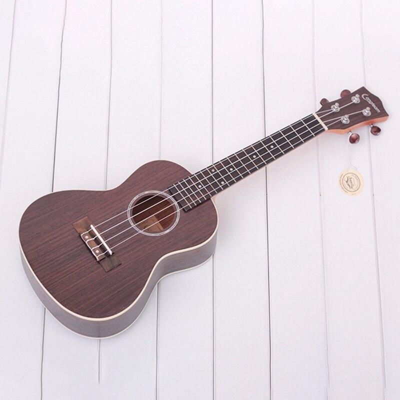 Longteam 23 pouces guitare ukulélé palissandre mat ukulélé hawaïen Mini guitare - 6