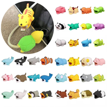 Toy Winder-Protector Cable-Case Storage-Holder Animal-Cable iPhone Cartoon for USB Doll