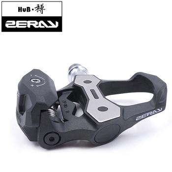 ZERAY pedały do rowerów szosowych 30 z włókna węglowego z knagami ZP-110 kompatybilne z LOOK KEO samoblokujące łożyska akcesoria rowerowe tanie i dobre opinie Samohamowność pedału 88 5*94mm Rowery drogowe Aluminium stop 30 Carbon Fiber 70 PA6 Self-locking bearing Maintenance-free