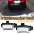 Светодиодные лампы для номерного знака PMFC для Mitsubishi OUTLANDER XL(CW) 2006-2012 для Lancer Sportback 2008 ~ 2012