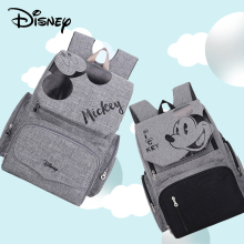 Disney Mickey Minnie Baby Mummy Multifunctional Diaper Bags Changing Bag for Stroller Nappy Organizer