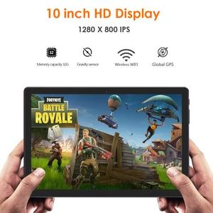Image 2 - 2020 버전 10 인치 안드로이드 9.0 파이 3G 전화 통화 태블릿 32 기가 바이트 eMMC 듀얼 카메라 5.0MP 1280x800 HD 화면 와이파이 GPS 태블릿 선물