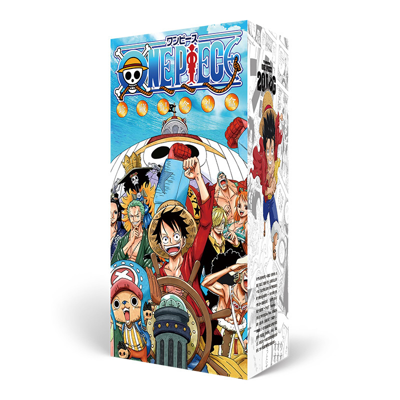 New Arrived One Piece Anime Support Package Collection Gift Box(Contains 7 Different Products) Postcard