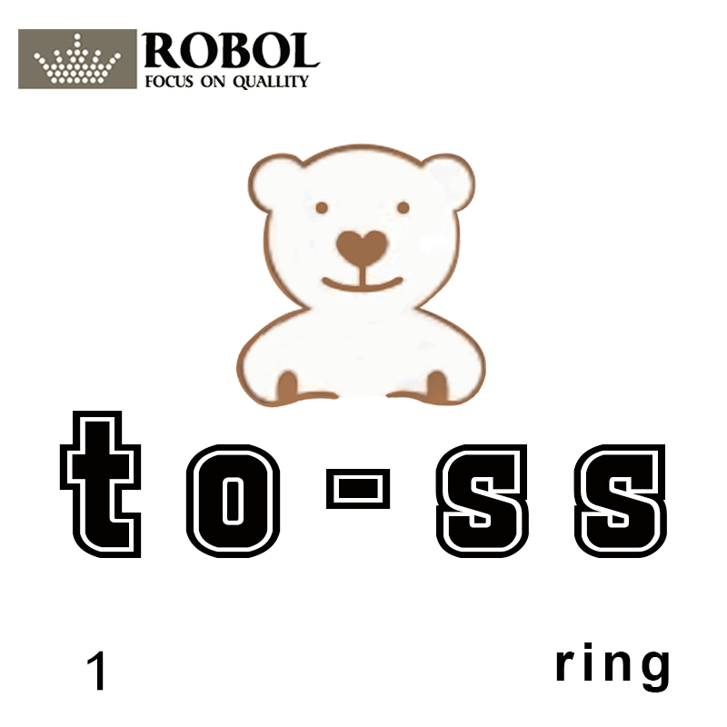 Toss Bear Sterling Silver Copy Jewelry Spanish Bear Version Jewelry Women's Fashion Ring With Original Logo Wholesale C812405640