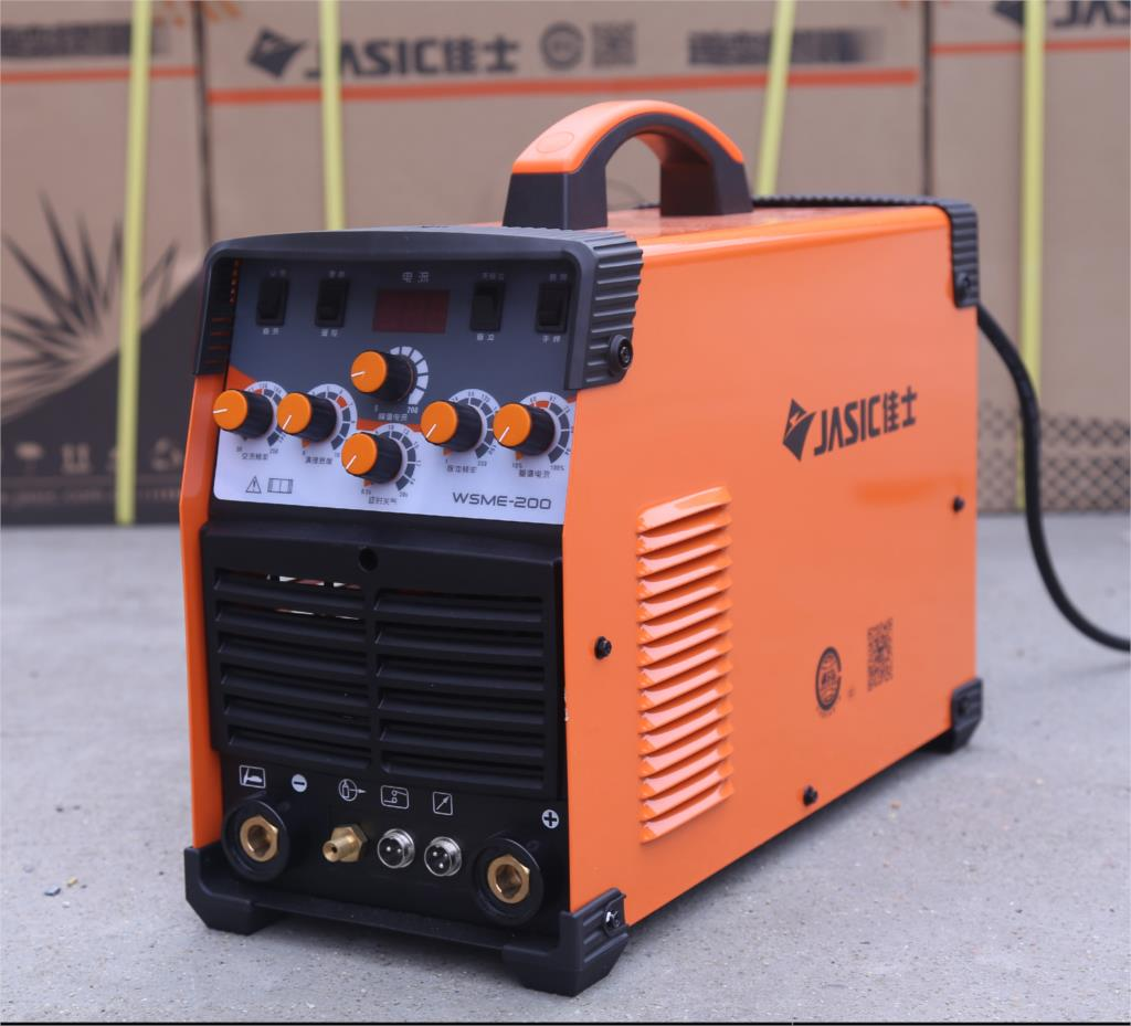 JASIC WSME-200 TIG-200P AC DC Tig Welding Machine With Accessories Double Pulse Argon Arc Welding Machine Household Aluminum