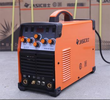 цена на JASIC WSME-200 TIG-200P AC DC tig welding machine with accessories Double Pulse Argon Arc Welding Machine Household Aluminum