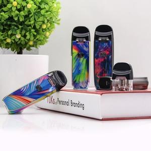 Image 5 - Original New IJOY AI EVO Resin Pod vape pen Starter 1100mAh Kit 0.7 Mesh/1.4ohm Coil Pod Vape Kit VS Lost Vape lyra minifit kit