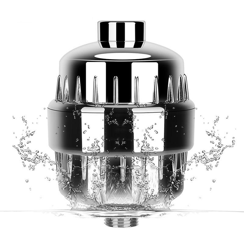 Ev Aletleri'ten Su Filtre Parçaları'de In line banyo duş filtresi banyo su filtresi arıtma su arıtma sağlık yumuşatıcı klor kaldırma title=