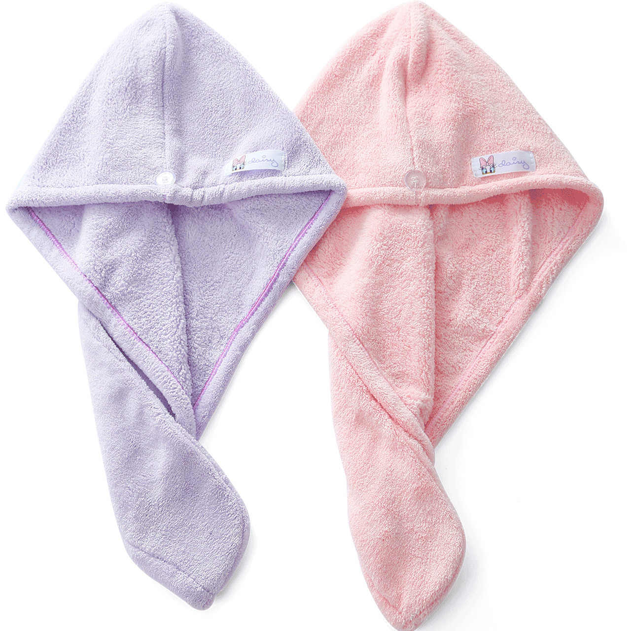 Disney Mickey Minnie cap capelli asciutti cuffia per la doccia per bambini di età sveglio a lungo borsa capelli foulard asciugamano femminile telo da bagno