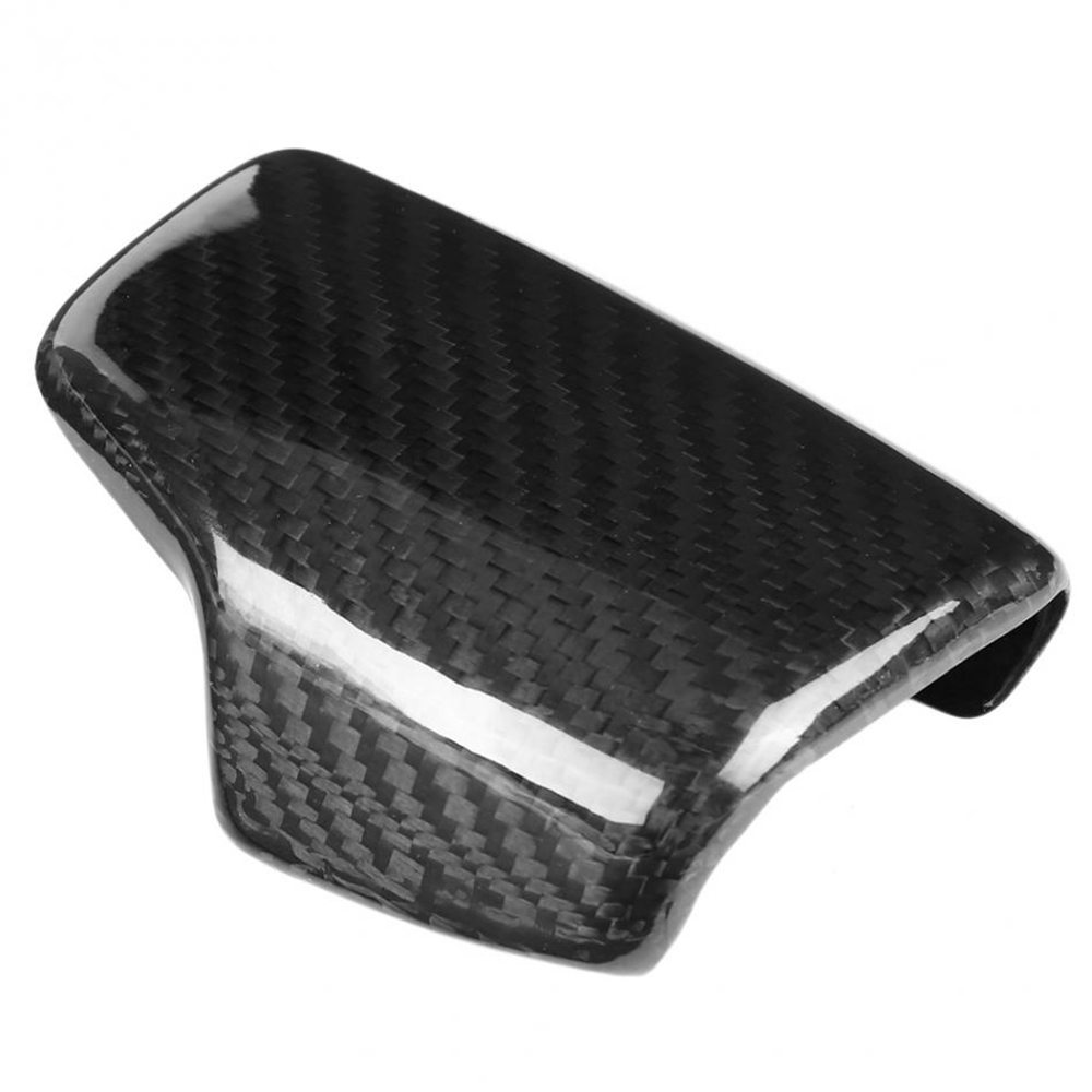 Image 2 - Real Carbon Fiber For AUDI A4 S4 RS4 B9 A5 S5 RS5 Q5 Q7 2016 2017 2018 2019 AT Car Styling Gear Shift Knob Head Cover Trim LHD-in Car Stickers from Automobiles & Motorcycles